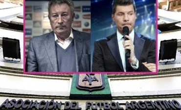 La AFA elige a su nuevo presidente: Luis Segura o Marcelo Tinelli