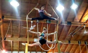 Circo y color en una nueva gala del Polideportivo Güemes