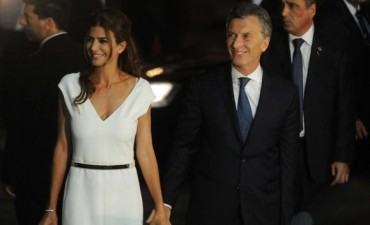 Macri participó en el Colón de la gala en su honor