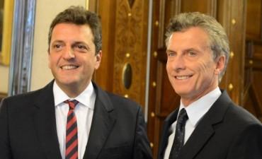 Mauricio Macri mantuvo encuentros con Massa y Stolbizer en Casa Rosada