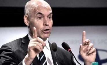 Rodríguez Larreta promete urbanizar las villas