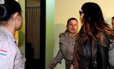 Moria Casán fue detenida apenas pisó Paraguay