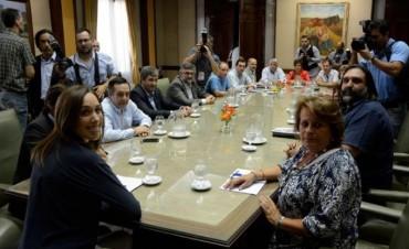 Se realiza la primera reunión de Vidal con los gremios docentes bonaerenses