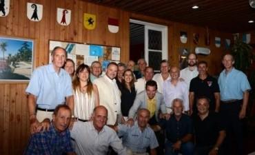 Los clubes de remo de Tigre brindaron por el cierre de año