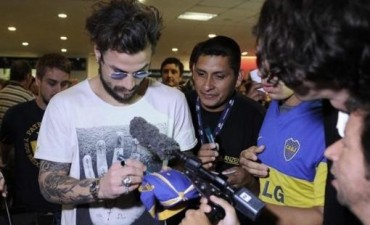 Silva arregló su llegada a Boca y Daniel Osvaldo ya está en la Argentina