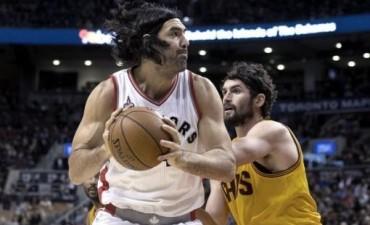 Scola marcó 15 puntos en el triunfo de Toronto Raptors