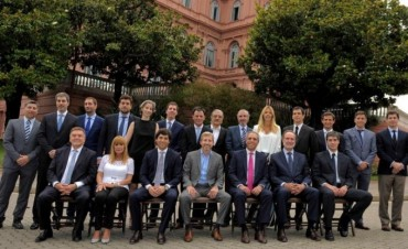 Frigerio presentó el gabinete del ministerio del Interior, Obras Públicas y Vivienda
