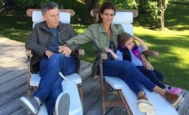 Macri llegó a Villa La Angostura donde pasará unos días de descanso