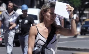 Elevan a naranja el alerta por la ola de calor en la Ciudad de Buenos Aires y alrededores