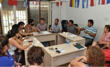 Encuentro de concejales del Moviemiento Evita de la primera sección electoral