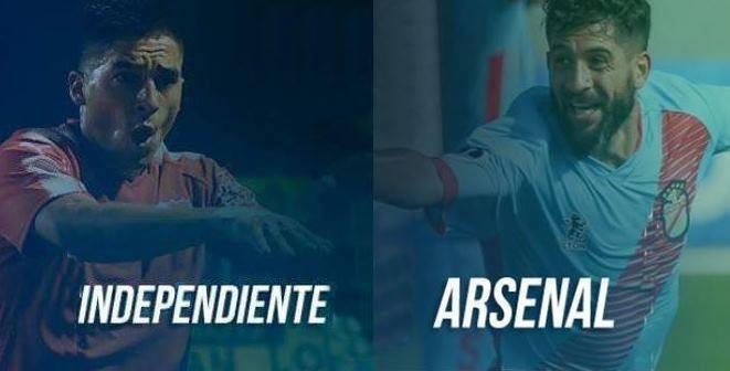 Arsenal Independiente, última fecha del año en la Superliga en VIVO por ArgenTV, La Folk Argentina y Nexo 104.9 Mhz