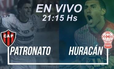 Huracán vs Patronato en VIVO – Superliga 2017-2018 desde las 21:15 Hs por NEXO 104.9 Mhz y La Folk Argentina