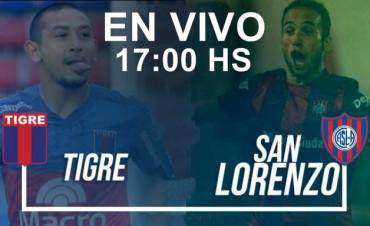 Tigre-San Lorenzo: Superliga Argentina 2017 en VIVO 17:00 Hs por NEXO 104.9 Mhz y La Folk Argentina