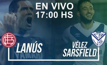 Lanús vs Vélez Sarsfield se enfrentan por la fecha 11 de la Superliga en VIVO 17:00 Hs por NEXO 104.9 Mhz