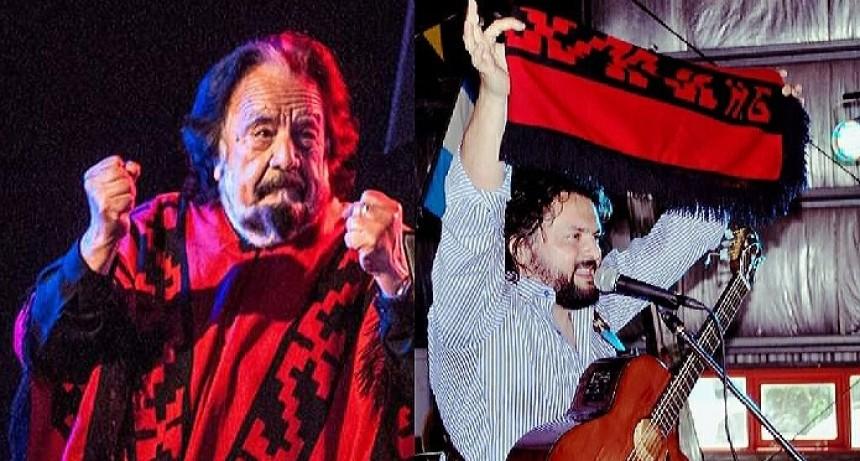 El Poncho de Horacio Guarany en manos de Yuyo Gonzalo Su Heredero Musical